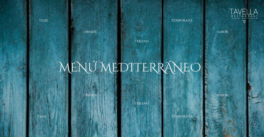 Menú Mediterráneo